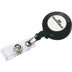 Chiocciola Yo-Yo per portabadge clip 10 Pz/Conf 10 pz.