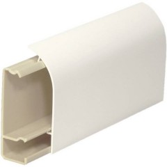 Sistema su battiscopa Canalina 2000 mm Bianco