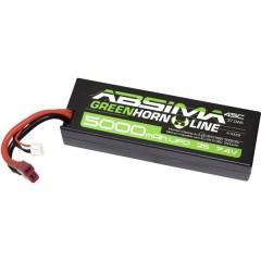 Batteria ricaricabile LiPo 7.4 V 5000 mAh Numero di celle: 2 50 C Box Hardcase Sistema a spina a T