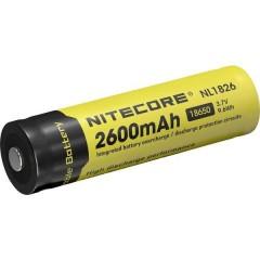 NL1826 Batteria ricaricabile speciale 18650 Li-Ion 3.7 V 2600 mAh