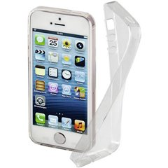 Clear Backcover per cellulare Apple iPhone 5, iPhone 5S, iPhone SE Trasparente