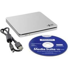 Masterizzatore esterno DVD Dettaglio USB 2.0 Argento