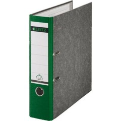 Raccoglitore 1080 DIN A4 Larghezza dorso: 80 mm Verde marmorizzato 2 archetti