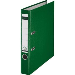 Raccoglitore 1015 DIN A4 Larghezza dorso: 52 mm Verde 2 archetti