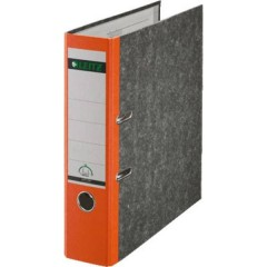 Raccoglitore 1080 DIN A4 Larghezza dorso: 80 mm Arancione marmorizzato 2 archetti