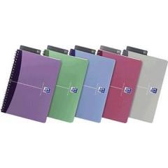 blocco college Office colori assortiti DIN A5 quadretti Numero di fogli: 90