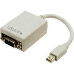 DisplayPort / VGA Adattatore [1x Spina Mini DisplayPort - 1x Presa VGA] Bianco 0.09 m