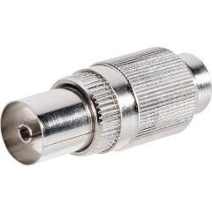 Connettore coassiale in metallo Diametro cavo: 9.5 mm