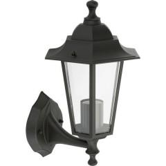 Wandleuchte Classico Aluminium Lampada da parete per esterno E27 Nero
