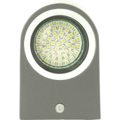 SMD-LED Wandleuchte Bastia/schwarz Lampada da parete a LED 6 W Bianco caldo Nero