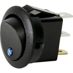 Interruttore a bilanciere per auto 12 V 10 A 1 x Off / On Permanente 1 pz.
