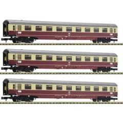 3 pz. Kit 1: Treno auto Christoforus-Express, DB