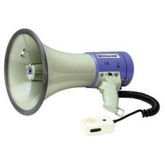 Megafono suoni integrati, con microfono a gelato