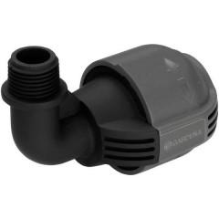 Sprinkler System Raccordo a L 25 mm (1/2) AG