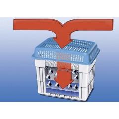 Deumidificatore con Sali 50 m² Blu, Bianco