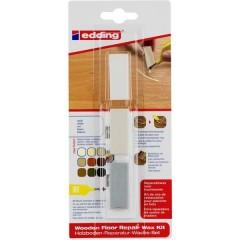 8902 Kit cera per la riparazione dei pavimenti in legno Bianco