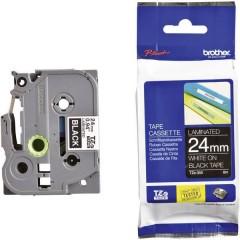 Cassetta nastro TZe TZe-355 Colore Nastro: Nero Colore carattere:Bianco 24 mm 8 m