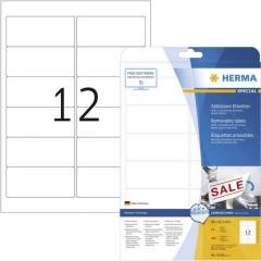 Etichette 96 x 42.3 mm Carta Bianco 300 pz. Staccabile Etichetta universale Inchiostro, Laser, Copia 25 fogli