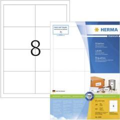 Etichette 97 x 67.7 mm Carta Bianco 800 pz. Permanente Etichetta universale, Etichetta per indirizzo