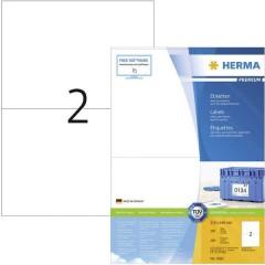 Etichette 210 x 148 mm Carta Bianco 200 pz. Permanente Etichetta universale, Etichetta per spedizioni