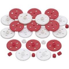 Plastica Assortimento di ingranaggi Tipo di modulo: 0.5 Numero di denti: 50, 10 1 KIT
