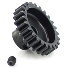 Pignone motore Tipo di modulo: 1.0 Ø foro: 5 mm Numero di denti: 24
