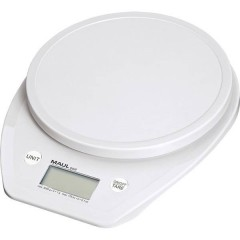 Bilancia per lettere Portata max. 5000 g Risoluzione 1 g a batteria Bianco