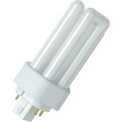 Osram Dulux T/E Lampada a risparmio energetico GX24q-3 26 W Bianco caldo A forma tubolare