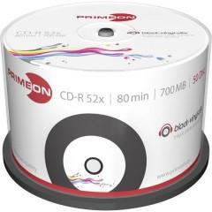 CD-R 80 vergine 700 MB 50 pz. Torre Vinile, stampabile