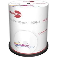 CD-R 80 vergine 700 MB 100 pz. Torre stampabile