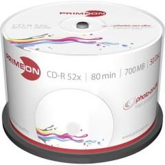 CD-R 80 vergine 700 MB 50 pz. Torre stampabile