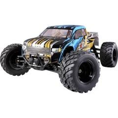 Brushed 1:10 XS Automodello per principianti Elettrica Monstertruck 4WD RtR 2,4 GHz incl. Batteria e cavo di
