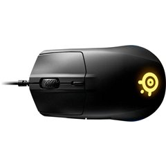 Rival 3 USB Mouse da gioco Ottico Ergonomico, Illuminato Nero