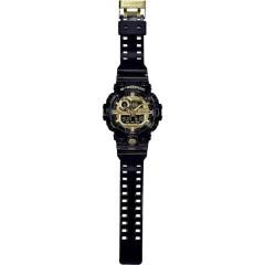 Orologio da polso Quarzo (L x L x A) 57.5 x 53.4 x 18.4 mm Nero Materiale cassa=resina Materiale