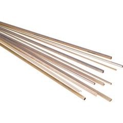 Profilato a T Ottone (L x L x A) 500 x 3 x 3 mm