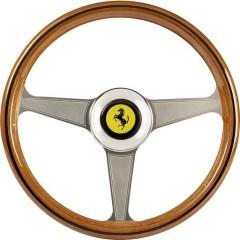 Ferrari 250 GTO Vintage Wheel AddOn Volante PC Legno, Grigio