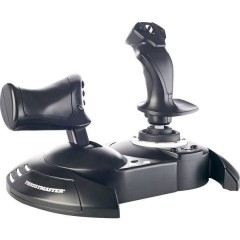 T.Flight Hotas One Joystick per simulatore di volo Xbox One Nero