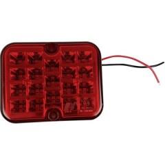 Faro antinebbia posteriore Cavi terminali Retronebbia posteriore 12 V Rosso