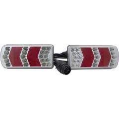 Kit illuminazione per rimorchio 13 poli Luce di direzione, Fanale posteriore, Luce targa, Faro di