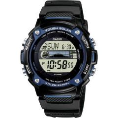 Orologio da polso Solare (L x L x A) 45.4 x 44 x 13.3 mm Nero Materiale cassa=resina Materiale