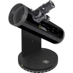 Telescopio a specchi 76/350, DOBSON Azimutale Dobson, Ingrandimento 18 fino a 117 x
