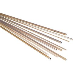 Profilato Ottone Quadrilatero (L x L x A) 500 x 3 x 3 mm