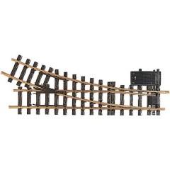 G Scambio, elettrico, destro 440 mm 22.5 ° 1243 mm