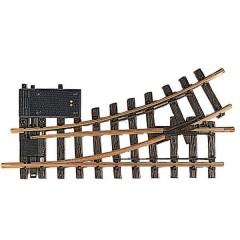 G Scambio, elettrico, sinistro 300 mm 30 ° 645 mm