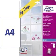 My Design Glas Pellicola decorativa per vetro DIN A4 Stampante a getto dinchiostro Trasparente 4
