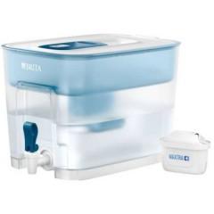 Flow Caraffa filtrante 8.2 l Bianco (trasparente), Azzurro (Ice-Colour)