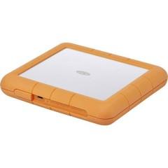 Rugged RAID Shuttle 8 TB Hard Disk esterno da 3,5 USB 3.2 Gen 2 (USB 3.1) Argento, Arancione
