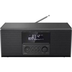 DR1550CBT Radio da tavolo DAB+, FM Bluetooth, CD, USB Nero