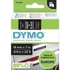 Cassetta nastro D1 45811 Colore Nastro: Nero Colore carattere:Bianco 19 mm 7 m