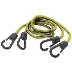 2 Corde elastiche con ganci Dimensioni (Ø x L) 8 mm x 1 m